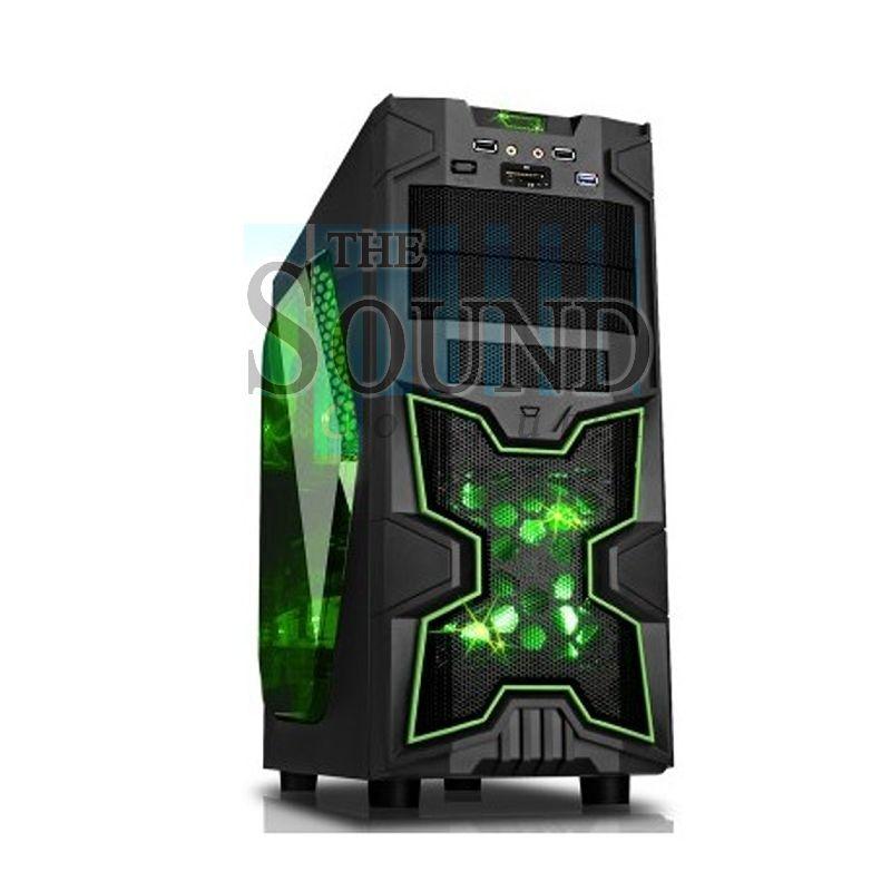 Cabinet atx gaming itek modello ninja no alimentatore for Grandi case cabinate